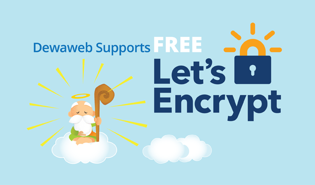 Unlimited SSL Gratis Let's Encrypt - Cloud Hosting Dewaweb