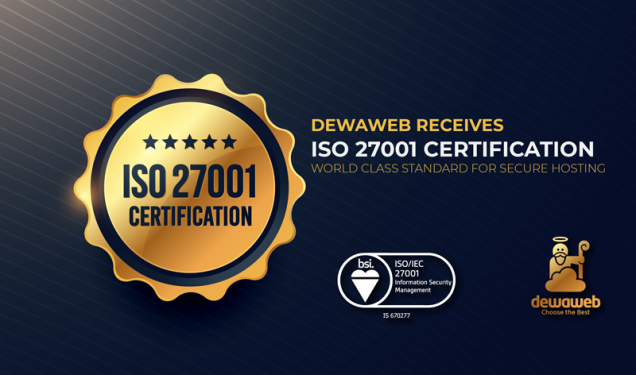 Cloud Hosting ISO 27001 Certification - Security Management Dewaweb
