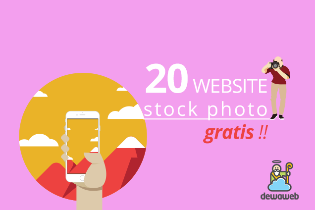 20 Website Stock Photo Gratis - Blog Dewaweb