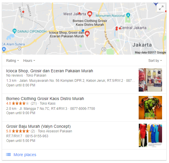Result-Page-Location-Google