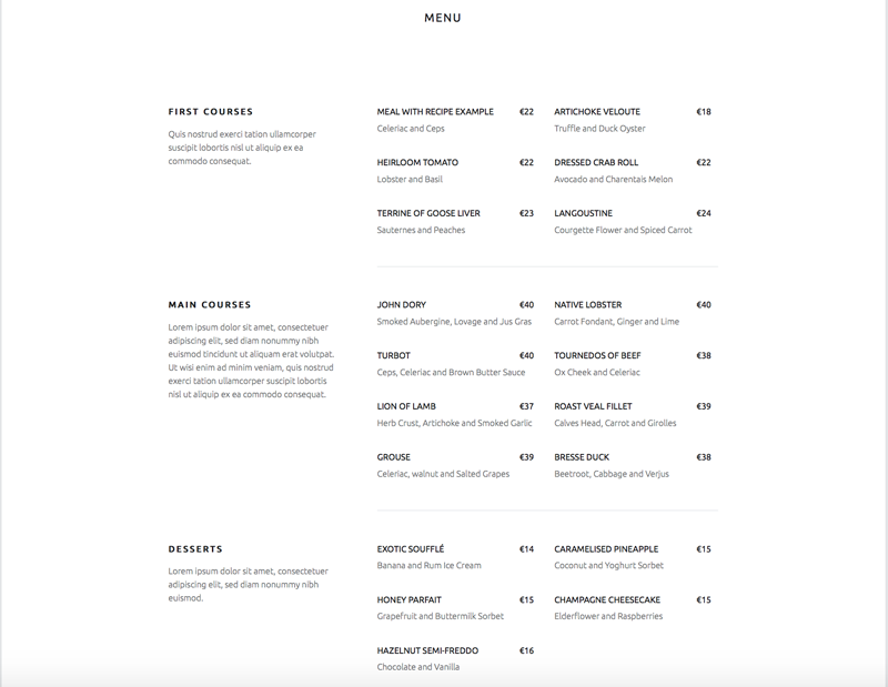 Template-WordPress-Auberge-Section-Menu