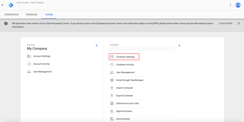 Google-Tag-Manager-Add-Container-Dewaweb
