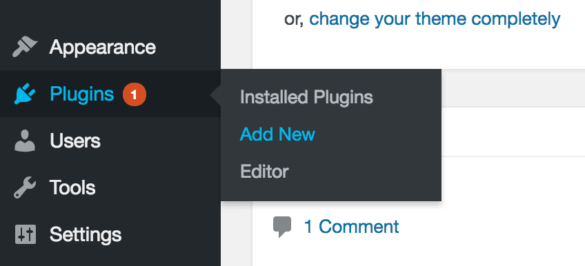 Add New Plugin WordPress