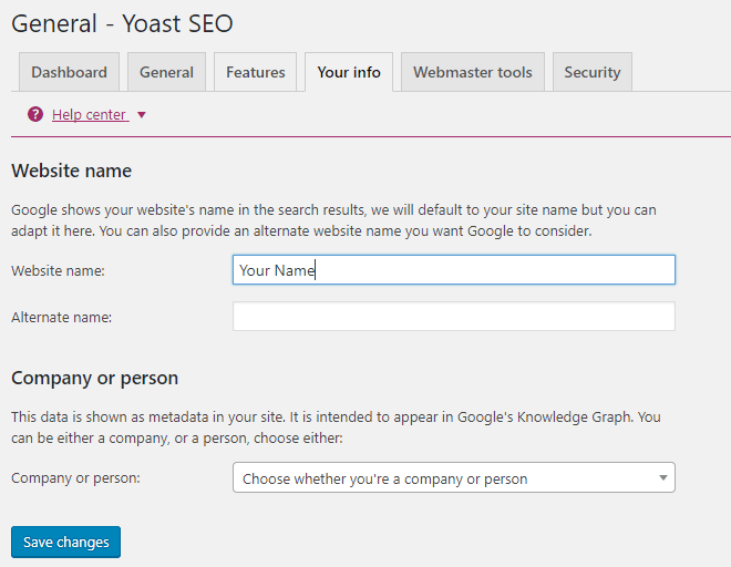 Your-Info-Section-Of-The-Yoast-SEO-Plugin