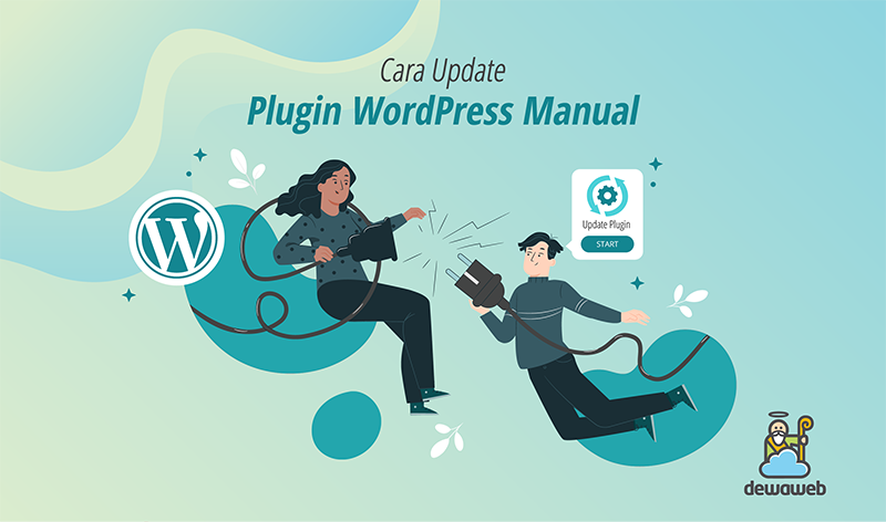 cara update plugin wordpress manual featured image