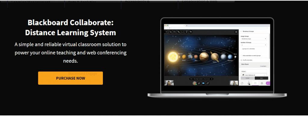 video conference blackboard collaborate
