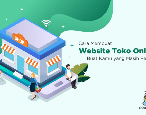 cara membuat website toko online featured image